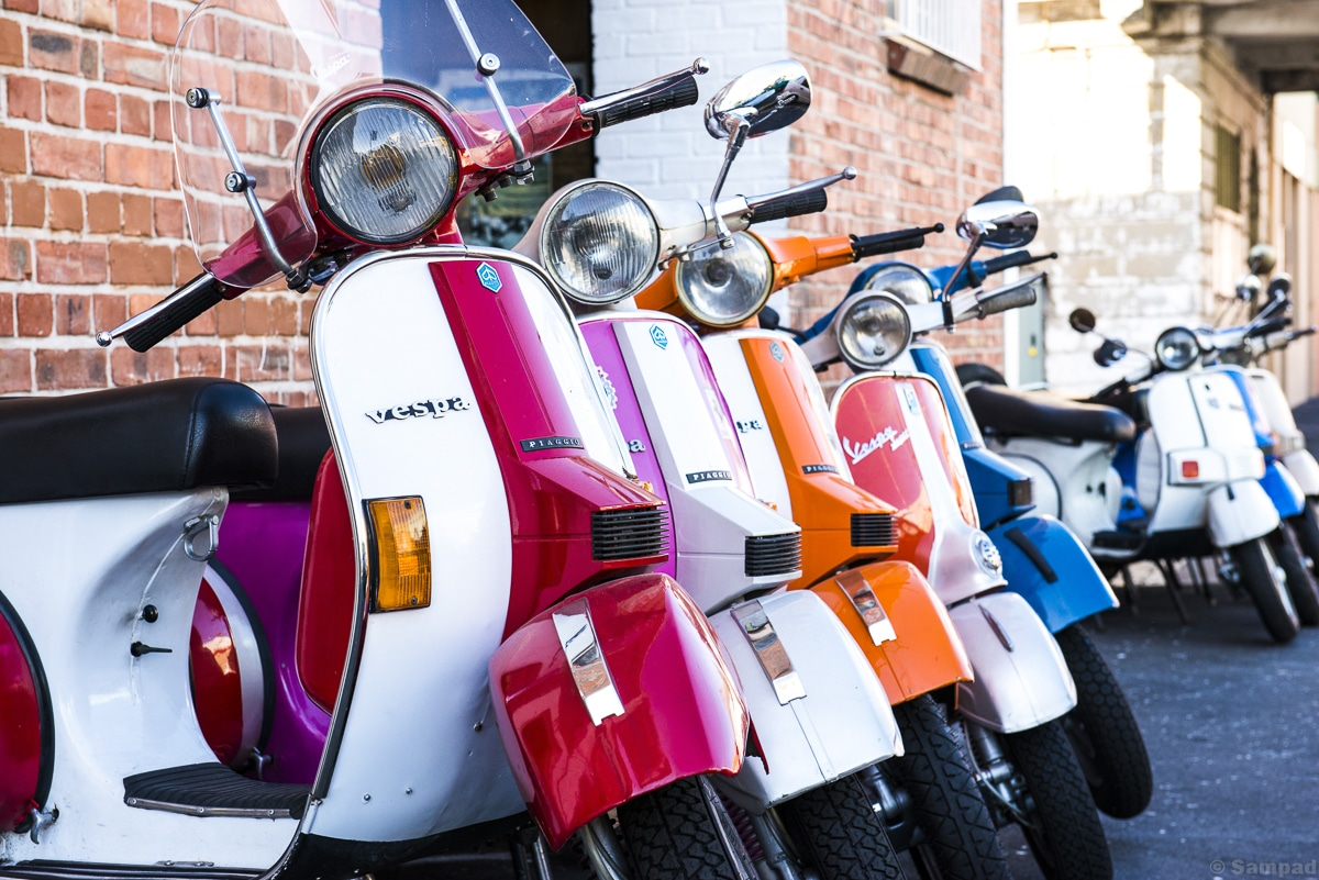 Vespa for ever