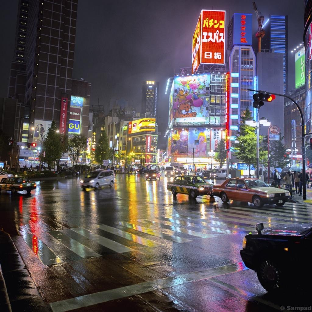 Blade runner at Shinjuku