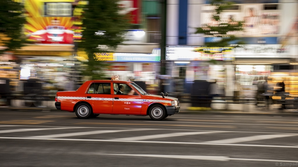 Taxi Rouge Tokyo