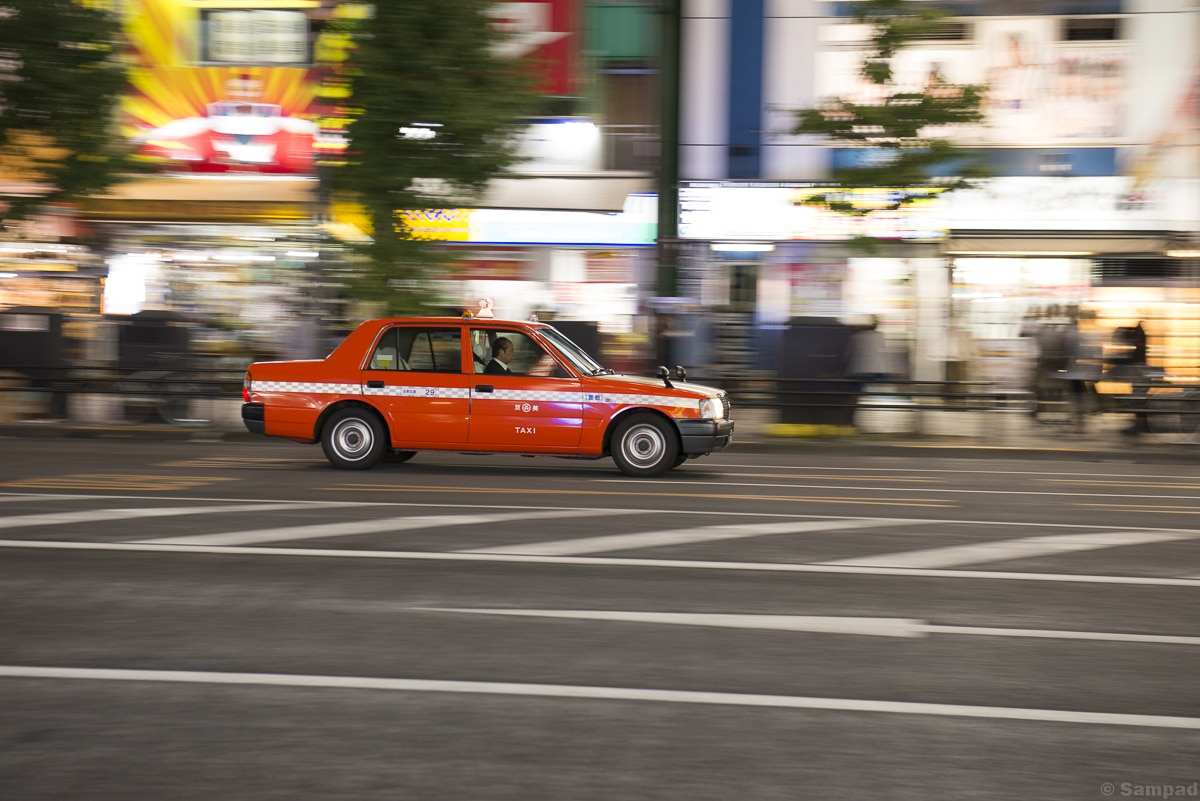 Tokyo Taxi by night