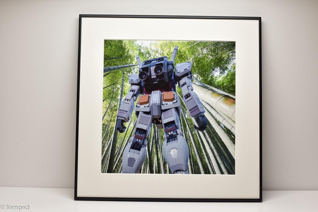 Gundam in the forest #1